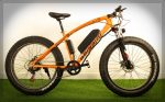 BEINA E-Bike Orange - Elektromos Mountain Bike